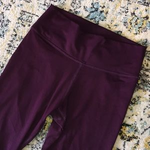 Fabletics plum color leggings